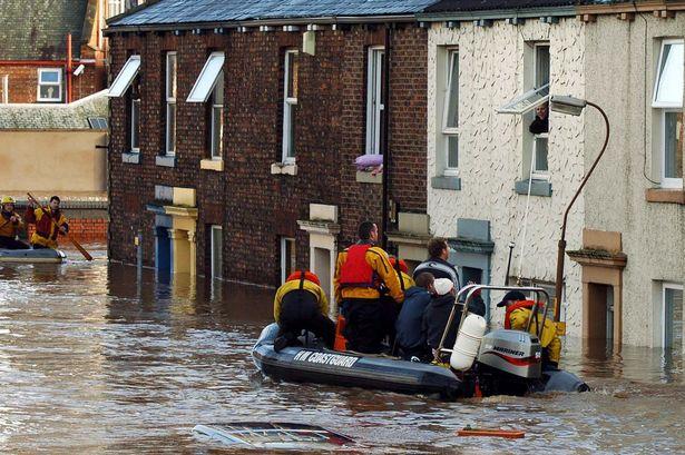 Carlisle Inundación 2005
