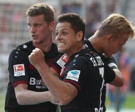 Chicharito y Marco Fabian metieron gol en la quinta jornada de la Bundesliga.