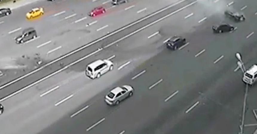 Accidente de auto - Chofer de Vladimir Putin