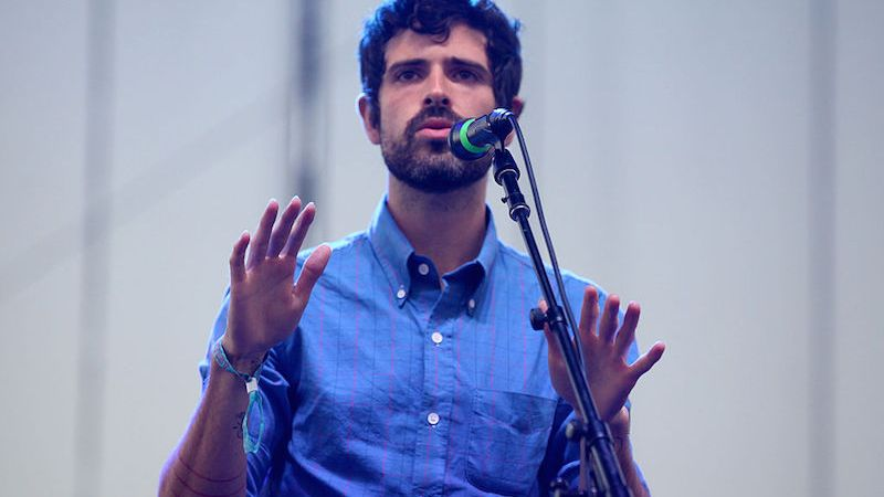 performs onstage during Day 1 of FYF Fest 2013 at Los Angeles State Historic Park on August 24, 2013 in Los Angeles, California.