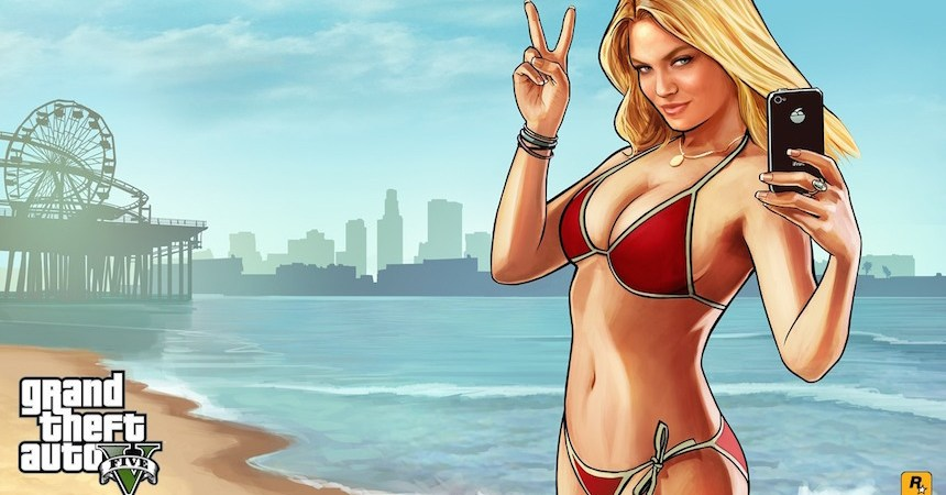 Grand Theft Auto V Lacey Jones