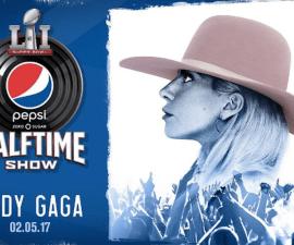 Lady Gaga actuará en el Super Bowl 51