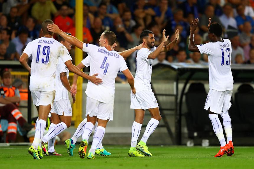 El Leicester ya tiró la liga y busca hacer ruido en champions