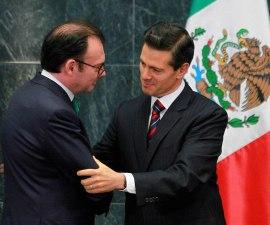 El presidente Peña Nieto acepta la renuncia de Luis Videgaray, titular de la SHCP