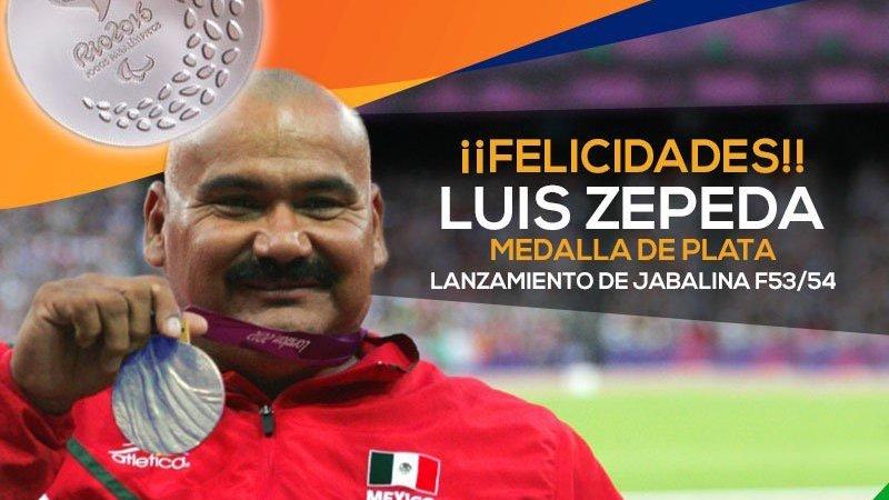 Luis Zepeda ganó la segunda medalla para México