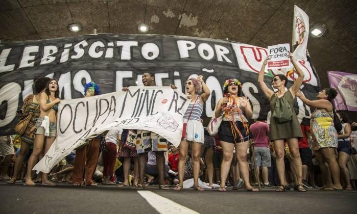 manifestacion brasil