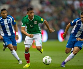 Partido final de cara al Hexagonal de CONCACAF entre México y Honduras.
