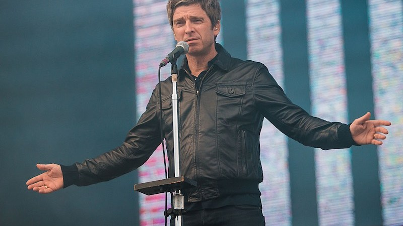 SAO PAULO, BRAZIL - MARCH 13: Noel Gallagher of Noel Gallagher's High Flying Birds performs live on sage at Autodromo de Interlagos on March 13, 2016 in Sao Paulo, Brazil. (Photo by Mauricio Santana/Getty Images)