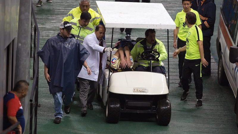 Paul Aguilar lesionado en Copa MX