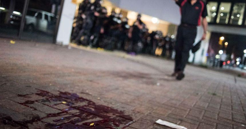 Protestas violentas en Carolina del Norte por violencia policiaca