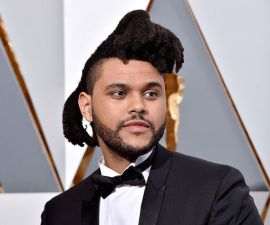 HOLLYWOOD, CA - FEBRUARY 28:  Recording artist The Weeknd attends the 88th Annual Academy Awards at Hollywood & Highland Center on February 28, 2016 in Hollywood, California.  (Photo by Kevork Djansezian/Getty Images)