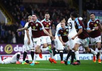 Victoria de Burnley versus Watford en Premier League