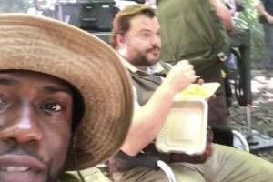 Clip de video de Kevin Hart junto a Jack Black