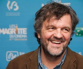 BRUSSEL, BELGIUM - FEBRUARY 01:  Emir Kusturica poses with his Magritte trophy of honor during 'Les Magritte Du Cinema award 2014' at Square Brussels on February 1, 2014 in Brussel, Belgium.  (Photo by Francois Durand/Getty Images)