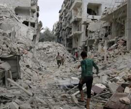 Rusia muestra una cara totalmente diferente de Alepo