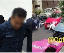 Detienen a automovilista que arrolló a una familia en Azcapotzalco