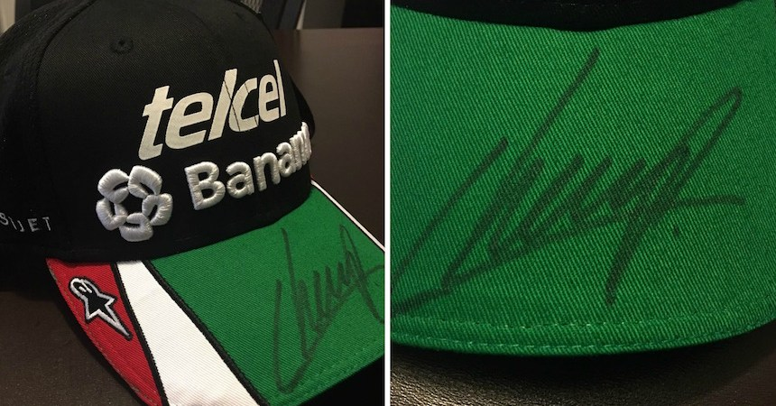 gorra-autografiada-checo-perez