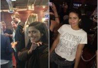 Hermanas trollean al Hijo de Donald Trump con una playera que dice 'Latinas contra Trump'