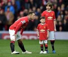 Wayne Rooney y su hijo