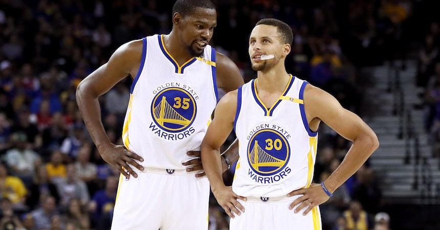 Kevin Durant y Stephen Curry darán miedo en Golden State