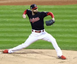 Kluber con Cleveland