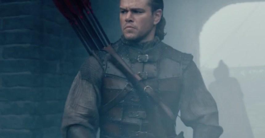 Matt Damon en The Wall