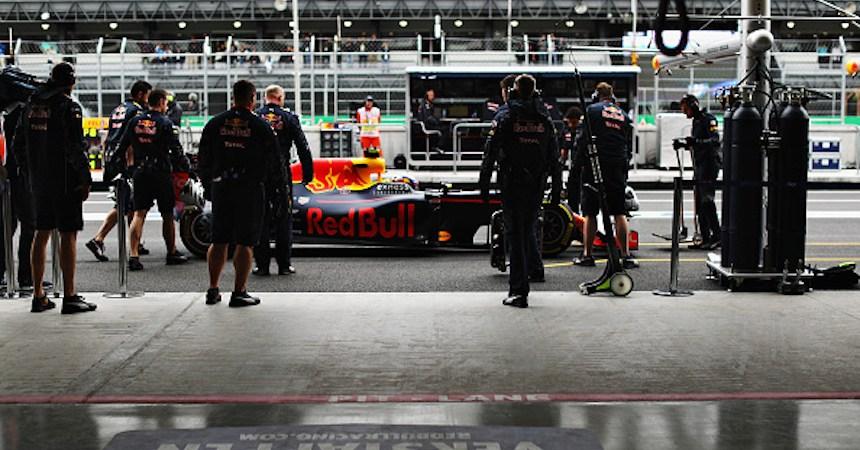 F1 Grand Prix of Mexico - Practice