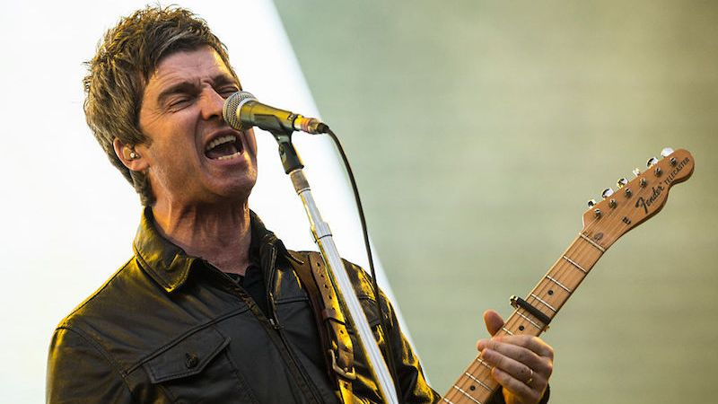 SAO PAULO, BRAZIL - MARCH 13: Noel Gallagher from Noel Gallaghers High Flying Birds performs at 2016 Lollapalooza at Autodromo de Interlagos on March 13, 2016 in Sao Paulo, Brazil. (Photo by Raphael Dias/Getty Images)