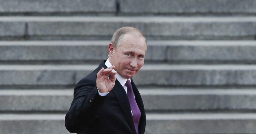 Presidente de Rusia Vladimir Putin