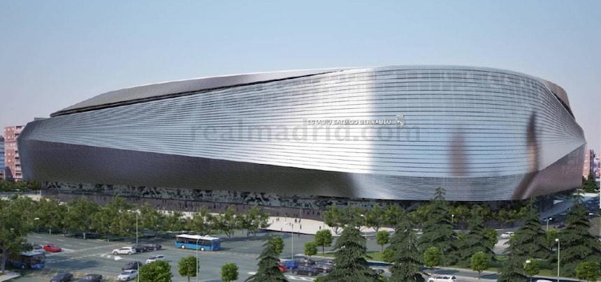 El Estadio Santiago Bernabéu podrá ser remodelado