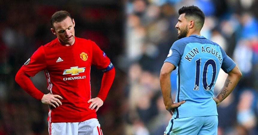 Rooney y Aguero no han hecho las cosas del todo bien esta campaña