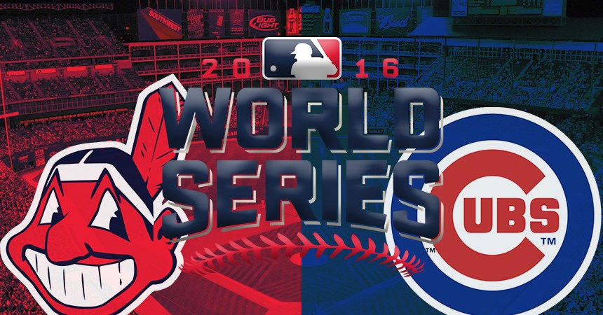 Serie Mundial 2016 entre Cleveland Indians y Chicago Cubs