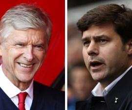 Arsene Wenger y Mauricio Pochettino