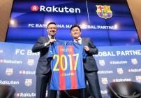 Rakuten, patrocinador del Barcelona