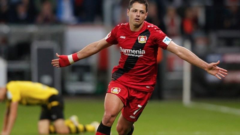 Chicharito Hernández Bayer Leverkusen