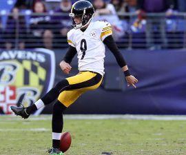 El pateador de los Pittsburgh Steelers hizo un oso en el juego contra baltimore