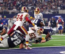 Dallas versus Cowboys ganan en Thanksgiving