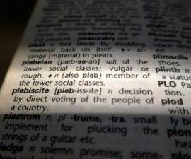 Post-verdad es la palabra del año de acuerdo con el Diccionario de Oxford