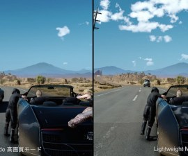 Final Fantasy XV en PlayStation 4 Pro