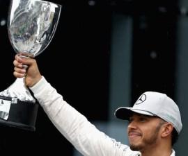 Lewis Hamilton ganó el Gran Premio de Brasil