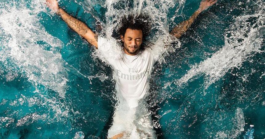Real Madrid presentó camisetas hechas de material reciblable