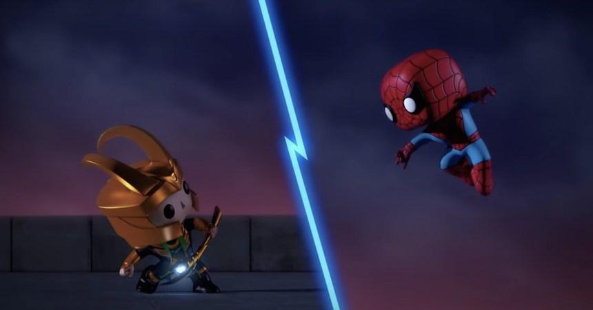Marvel Funko Animación