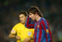 Messi en primer equipo