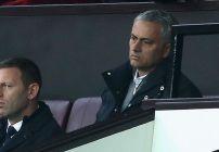 mourinho vio el juego desde la grada