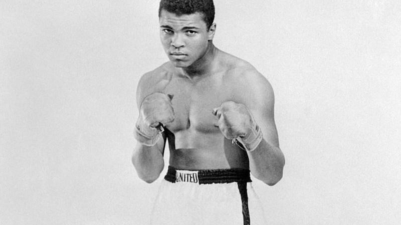 Muhammad Ali Blanco y Negro