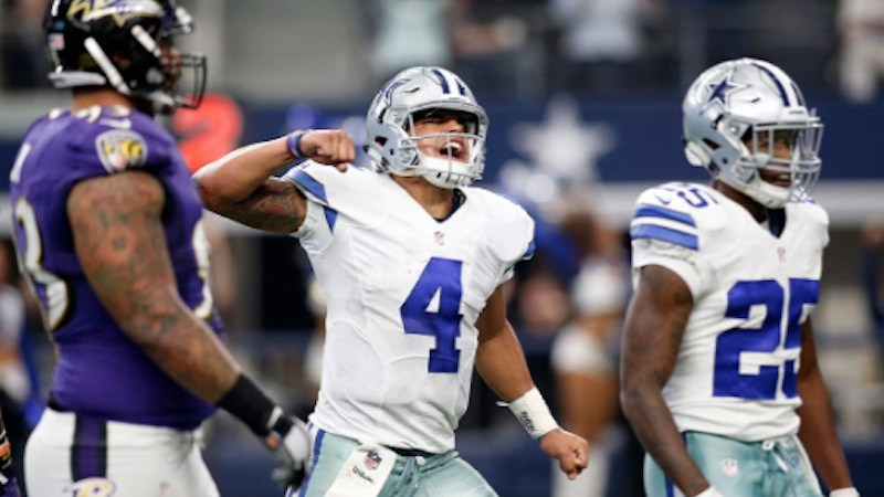 NFL Dallas Cowboys juega