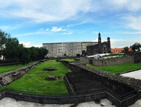Encuentran templo en Tlatelolco