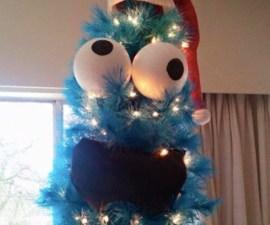 Árbol navideño - Come galletas