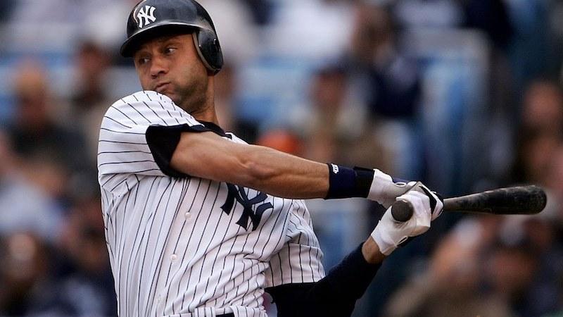 Derek Jeter Yankees juega