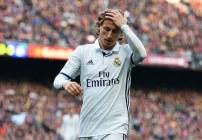 Luka Modric está triste